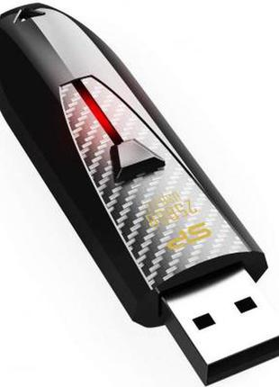 USB Флеш Накопитель Silicon Power 256GB Blaze B25 Black USB 3.0