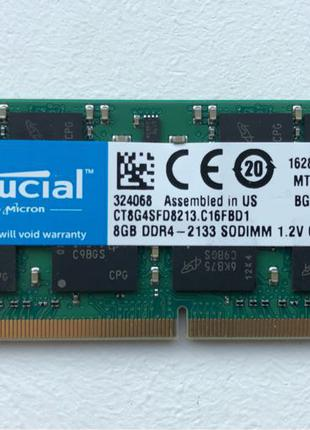 Crucial SO-DIMM DDR4 8GB 2133 MHz (CT8G4SFD8213)