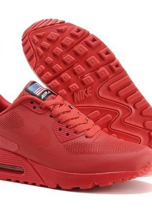 Стильные женские яркие кроссовки /nike air max 90 hyperfuse /о...