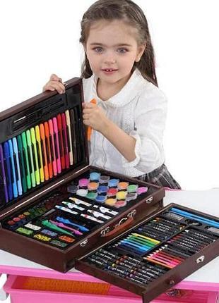 Набор для детского творчества (рисования) ArtKids в деревянном...