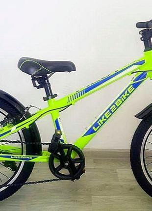 """Подростковый велосипед Like2bike Pilot,колеса 20""""дюймов"""