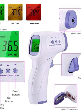 Термометр бесконтактный инфракрасный бесплатная доставка Justin