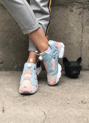 Кроссовки reebok insta pump og polar pink patina