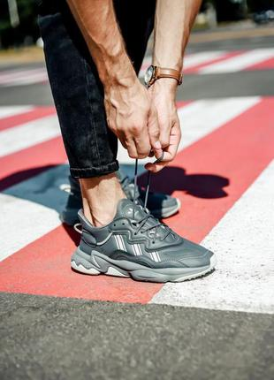 Кроссовки adidas ozweego grey