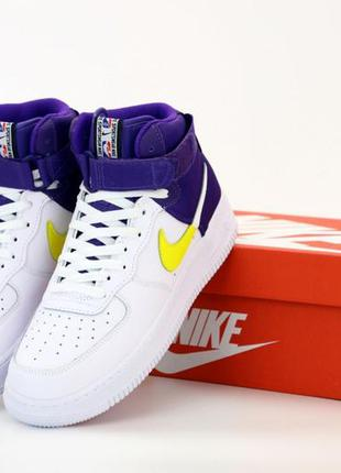 Кроссовки nike air force high