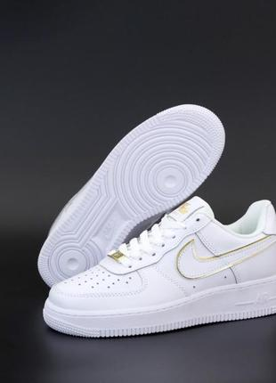 Кроссовки nike air force gold