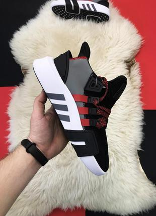 Кроссовки adidas eqt support black white red