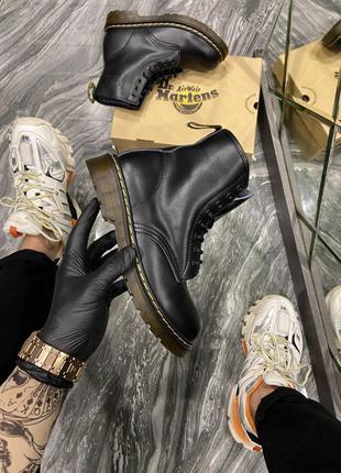Ботинки Dr Martens 1460 Black (Деми)