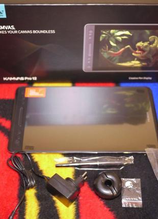 Графический планшет монитор Huion Kamvas Pro 12 GT-116 НОВЫЙ!