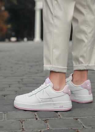 Кроссовки Nike Air Force 1 White Pink