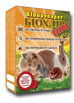 Биохлев – Ultra биопрепарат для ферментационной подстилки шиншилл