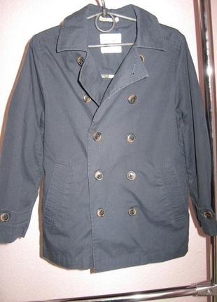 Куртка ветровка , плащ next для мальчика 7 лет