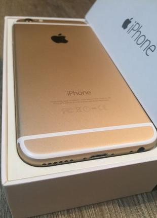 IPhone 6/16 gold идеальный