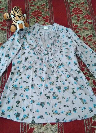 Комфортная блуза осень-весна cheer длинный рукав