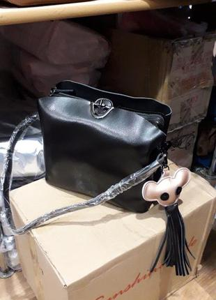 Женская сумка из натуральной кожи маленькая кожаная сумка женская