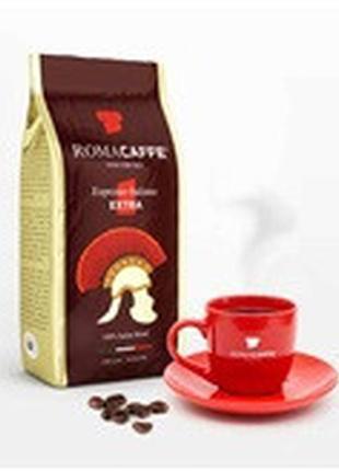 Кофе в зернах RomaCaffe Extra (50/50) - 1 кг.