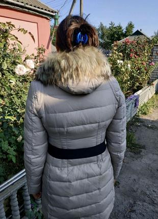 Зимняя курточка пуховик Snowimage, пух 70%, перо 30%