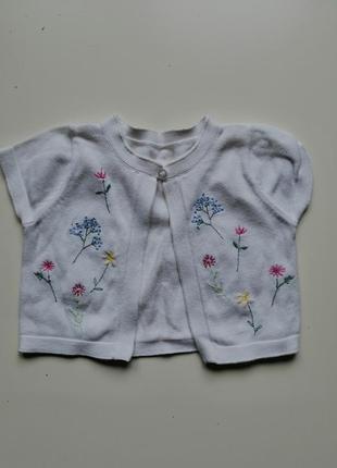 Болеро вышивка
