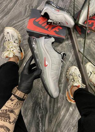 Мужские кроссовки 🔺nike air max 720-818 silver bullet🔺