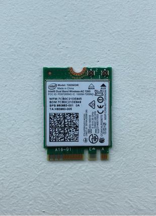 Wi-Fi Адаптер Intel 7265NGW   802.11ac + Bluetooth 4.2