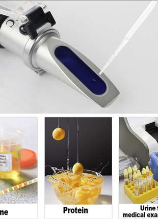 Рефрактометр для сывороточного белка удельной плотности мочи