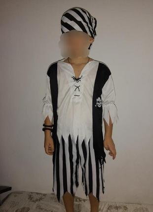 Карнавальный костюм пират на хэллоуин/новый год