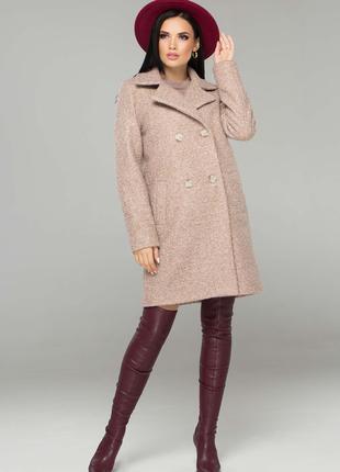 Женское пальто весна осень (пояс) S - XL