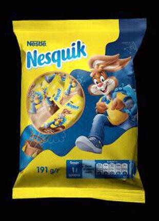 Конфеты Nesquik от Nestle 191г