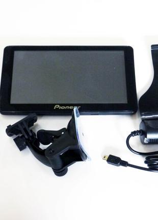 "7"" GPS навигатор Pioneer G711 - 8gb 800mhz 256mb IGO+Navitel+City"