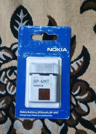 Батарея для Nokia original BP-6MT