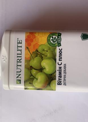 Amway NUTRILITE Витамин С плюс 180таб