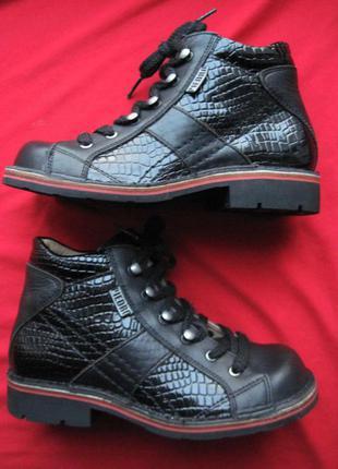 Piedro 2471 (31, 19,5 см) кожаные ортопедические ботинки детские