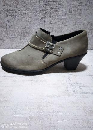 Туфли женские, Rieker, кожа, 38 р-р.