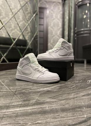 Nike air jordan 1 retro white