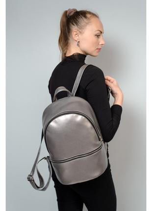 Маленький рюкзак Mane BSS silver dark