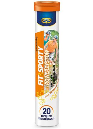 Витамины растворимые Kruger Fit & Sport (для велосипедистов), 84г