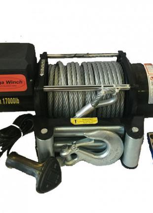 Лебедка на Эвакуатор Mega Winch серии Truck MWT 17000 - 12/24V
