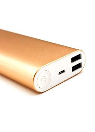 Аккумулятор Зарядное Power Bank 16000 Gold