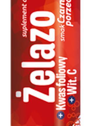 Витамины растворимые Kruger Zelazo + Kwas foliowy + Vitamin C 90g
