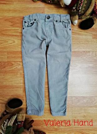 Детские мягкие плотные вельветовые брюки - штаны - мальчик - в...
