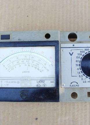 Аналоговый тестер (мультиметр) Ц4352 - корпус, измерительная г...