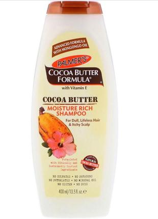 Palmer's cocoa butter formula moisture rich shampoo увлажняющи...