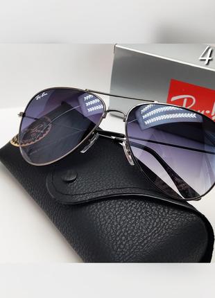 Стильные солнцезащитные очки авиаторы ray ban