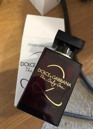 Dolce&gabbana the only one 2 парфюмированная вода, тестер