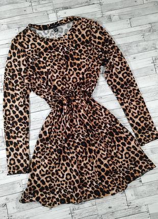 Идеальное леопардовое платье туника new look