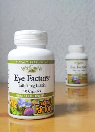 Комплекс для зрения Eye Factors, Natural Factors, 90 капсул