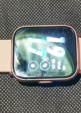 Умные часы HolyHigh с пульсометром и оксиметром