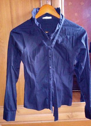 Рубашка Блуза Черный цвет
