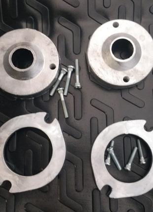 Проставки Audi A4 (B5) / Ауди А4 (Б5) комплект перед 27мм зад 20м