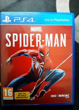 Marvel Spider-Man PS4 (диск)